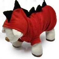 【D1209052/053】小型犬・猫用 怪獣に変身 コスチューム (XS)