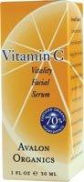 Avalon Organics Vitamin C Vitality Facial Serum 1 fl oz (30 ml)