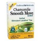 Traditional Medicinals Teas Organic Smooth Move Senna Chamomile, Senna Chamomile 16 bags