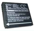 Battery for Panasonic Lumix DMC-FS10 DMC-FS10A DMC-FS10D DMC-FS10K 3.7V 940mAh