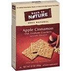 Back To Nature Apple Cinnamon Oat Graham (6/10 Oz)