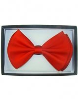 Outer Rebel Fashion Bow Tie- Red