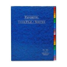 Desk File/Sorter, Indexed 1-31, 12\