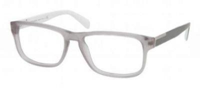pradaPrada PR07PV Eyeglasses-IAV/1O1 Matte Gray-56mm