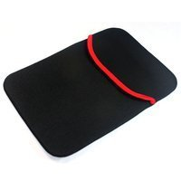 SVVM Tablet and Ipad 2,3 Sleeve 10inch Bag, Case, Pouch Reversible Black & Red Model: TS-10-BR