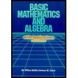 img - for Basic Mathematics and Algebra With Applications book / textbook / text book