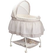 Delta Children's Products Sweet Beginnings Bassinet, Star Glaze