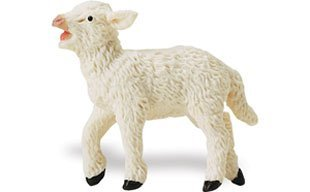 "Standing Lamb Toy, 2.24"" - 1"
