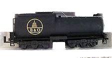 Ho Scale Bachmann B & O Baltimore & Ohio Vanderbilt Tender front-610402