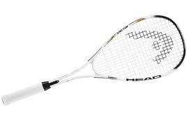 HEAD Nano Ti Spector Squash Racket  - White/Black