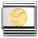 Nomination Composable Classic SPORT Edelstahl und 18K-Gold (Volleyball-Ball) 030106