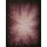 Adorama Belle Drape Old Masters Series, 10' x 24' Painted Muslin Background, Shades of Purple with White Hot Spot.