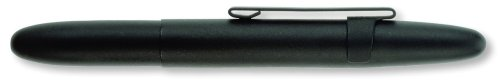 Fisher Space Pen Matte Black with Clip Bullet Ballpoint