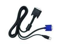 P&D (30+5) MALE / HD15M+USB A