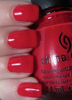 China Glaze Nail Polish Lacquer Cirque Du Soleil 'Worlds Away' Collection - Igniting Love (15ml)