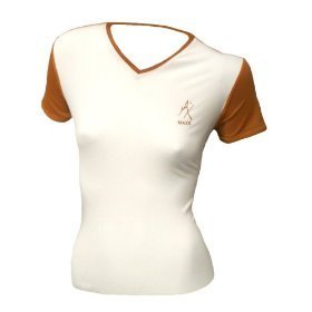 MAXIT Womens Bodygear Shirt V-neck and Cap sleeve