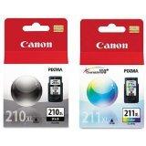 Canon PG-210XL /CL-211XL Color Ink Cartridge Combo Pack-Black