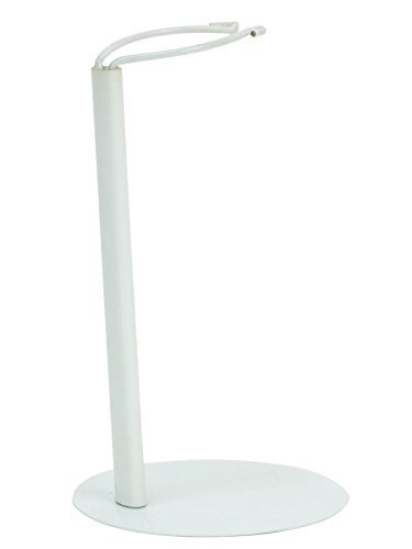 Doll Stand in White Metal, Sized for 18 Inch Dolls & American Girl Dolls, 18 Inch Doll Item