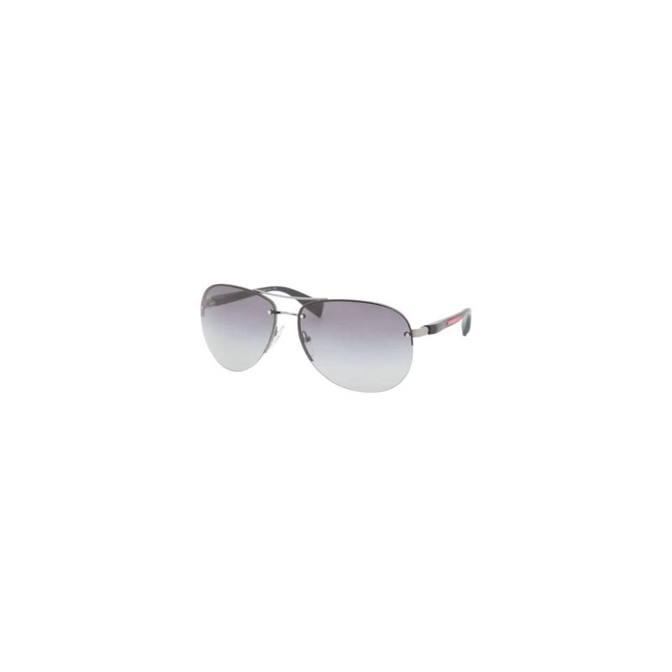 7e1062a95b842 Prada Sps56m Gunmetal Gray Gradient Sunglasses on PopScreen