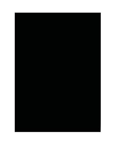 Tonpapier, DIN A3, 50 Blatt, schwarz*