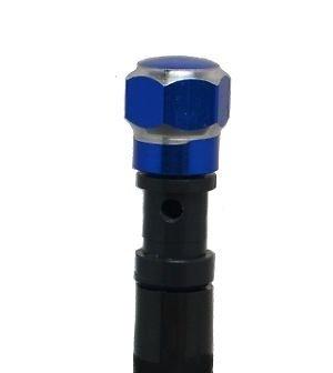 MOTOFLOWZ BLUE BILLET HEX CUSTOM GAS CAP VENT yz yzf 125 250 450 yfz yamaha 85 (Yfz 450 Gas Cap Vent Hose compare prices)