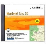 Magellan USA 3-D Mapsend Topo Software