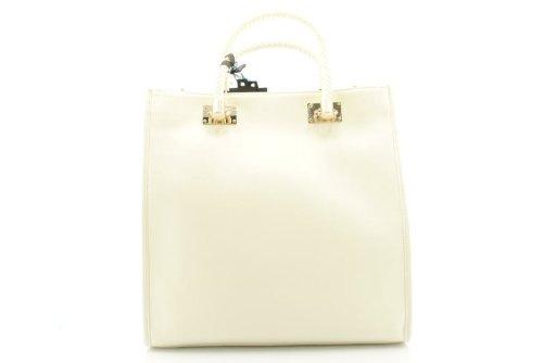 borsa liu jo modello Anna SHOPPING VERTICALE colore BIANCO coll. 2012 13 74b91cdd0ff