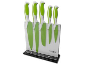Boker Colorcut Apple Green Stainless Kitchen Cutlery Set Knife Knives