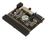 LogiLink Bi-Directional IDE / SATA Converter- Converter S-ATA to IDE and vice versa - Connection 1: S-ATA male - Connection 2: IDE 40-pin female (PATA) - For motherboard, controller, hard disk, DVD - Switch for functional direction - Standardized connect