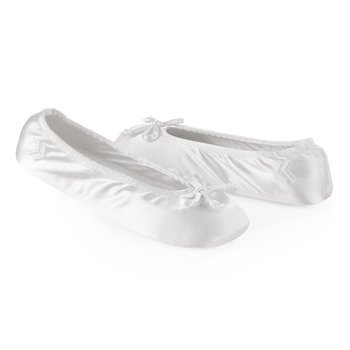 Cheap Classic Satin Ballerina Slippers for Women (B009AFWXOW)