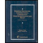 9781422421727: Criminal Procedure: Constitutional Constraints Upon Investigation and Proof Sixth Edition