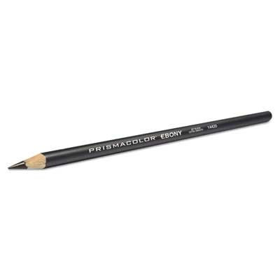 Prismacolor Design EBONY Sketching Pencil, Black Matte Barre