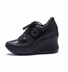 Agile by Rucoline 1800 A DIPSY MATISSE NERO, SNEAKER DONNA (36)
