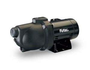 Flotec FP4022 Jet Pump, 3/4 HP, Shallow Well, 12 GPM, 720 GPH, Corrosion Resistant