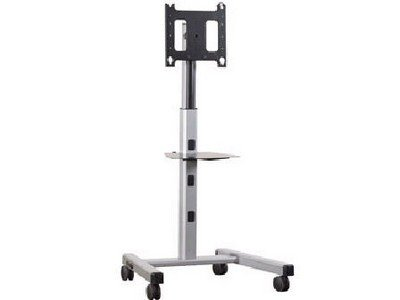 Chief Mfcus Mfc-Us - Cart For Flat Panel ( Telescopic ) - Aluminum - Silver