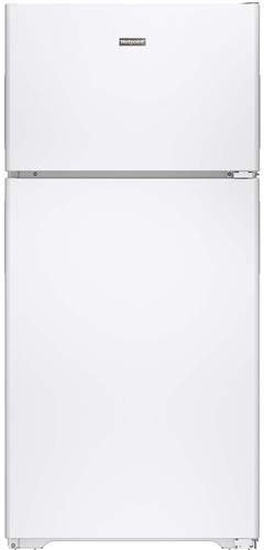 hotpoint hpe15bthww 14.6 cu. ft. white top freezer refrigerator