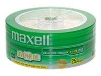 25 DVD+R Dual / Double Layer Maxell 8,5GB 240 min. per console, film e xbox