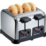 Hamilton Beach - Classic Chrome 4-Slice Extra-Wide Slot Toaster from Hamilton Beach