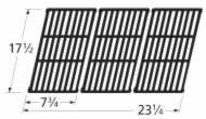 Music City Metals 62673 Matte Cast Iron Cooking Grid Replacement for Select Gas Grill Models by Amana, Kenmore and Others, Set of 3