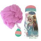 Frozen Frosted Berry Tear Free Bubble Bath and Bath Sponge Bundle