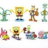 "SpongeBob SquarePants Spongebob 2"" Figure Set of 8 Multicoloured, 1pac"