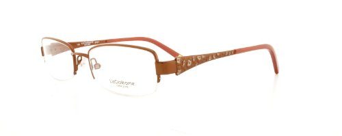 LIZ CLAIBORNE Eyeglasses 346 0TE7 Brown 50MM
