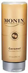 Monin Gourmet Caramel Sauce, 12 oz Squeeze Bottle