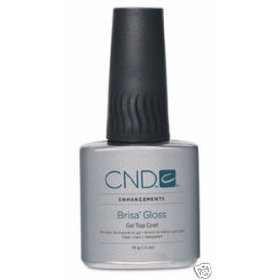 CND BRISA GLOSS GEL TOP COAT .5oz