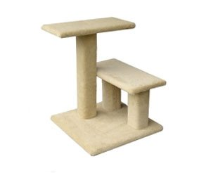 Mini Lucy Cat Tree : Color BROWN : Size ALL CARPET