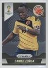 Camilo Zuniga Colombia (Trading Card) 2014 Panini Prizm World Cup #49