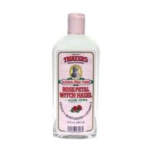 THAYERS Rose Petal Witch Hazel Toner - booze cost-free & natural and organic Aloe Vera
