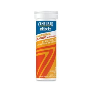 Camelbak Products Elixir 12 Tablet Tube, Tangerine Orange/Caffeine