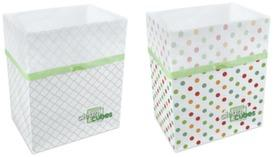 Amazon.com: Clean Cubes Disposable Trash Cans and Recycling Bins, 3-Pack: Office Products