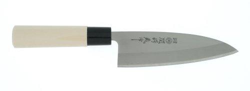 Kotobuki Seki 6-1/2-Inch Deba Knife